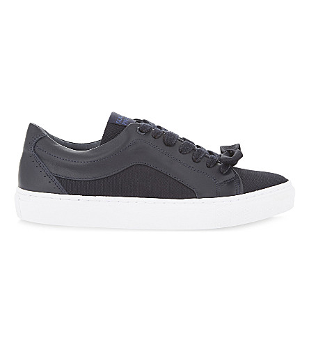 CLAUDIE PIERLOT Adele Bis lace up trainers (Marine