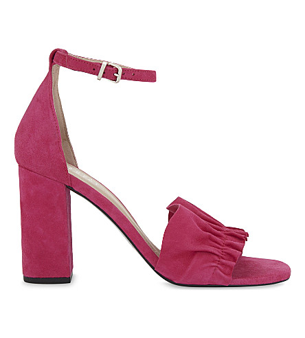 CLAUDIE PIERLOT Aloes heeled sandals (Fushia