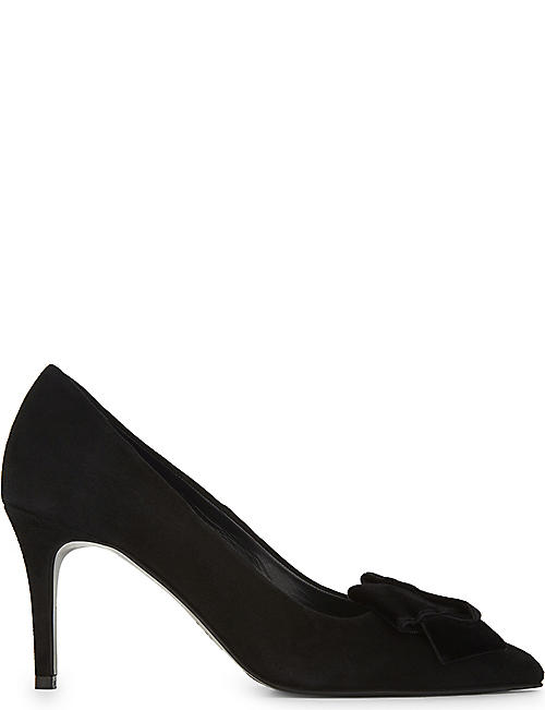 Claudie Pierlot Woman Leather Pumps Black Size 38 Claudie Pierlot