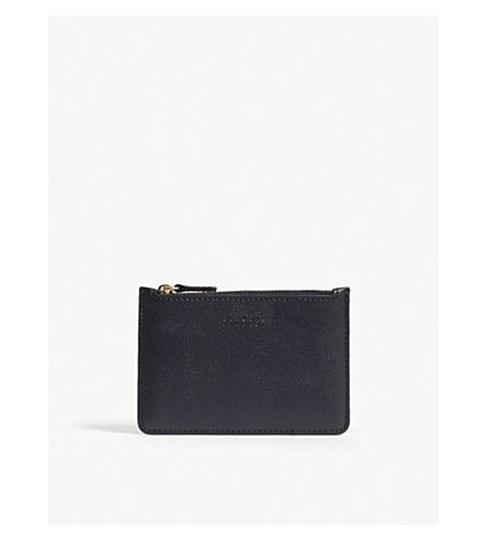 CLAUDIE PIERLOT Angelo leather purse (Blue