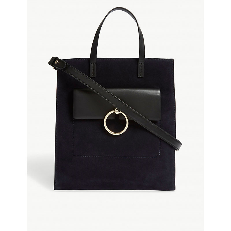 Anouck suede tote