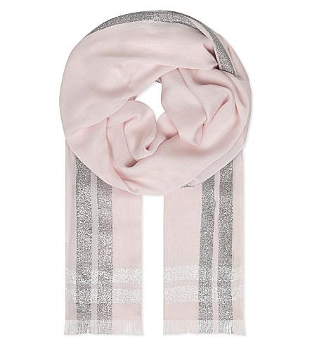 CLAUDIE PIERLOT Atole scarf (Poudre