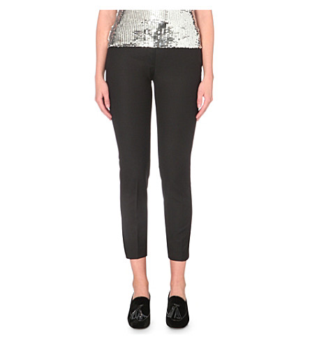 CLAUDIE PIERLOT Prague tapered trousers (Noir