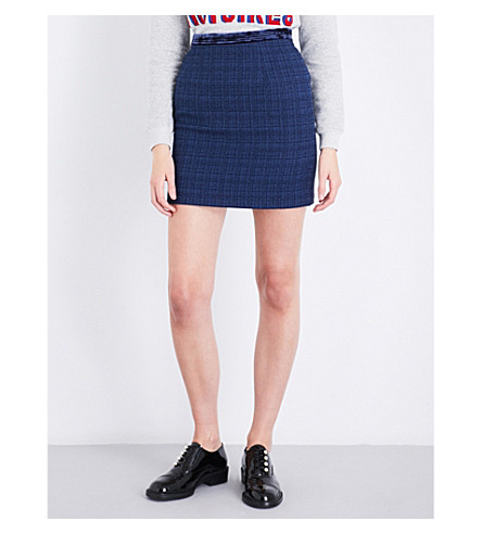 CLAUDIE PIERLOT Sister tweed mini skirt (Outre+mer