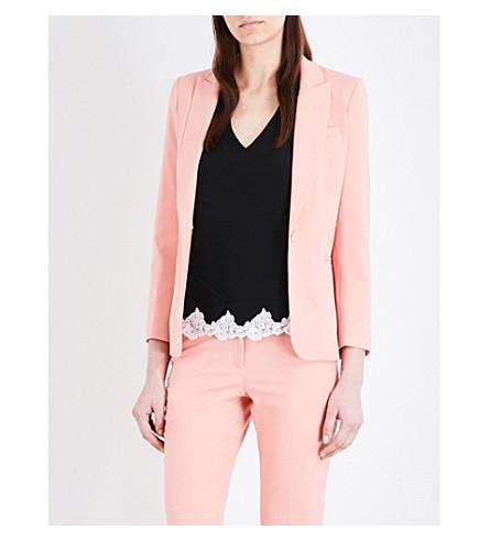 CLAUDIE PIERLOT Violetta twill jacket (Blush