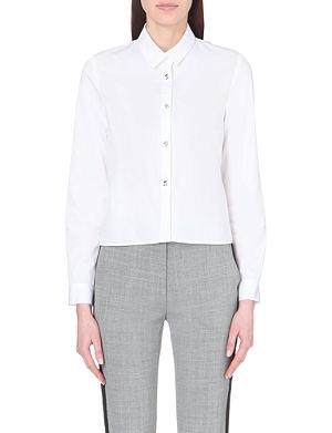 CLAUDIE PIERLOT Candy long-sleeved cotton shirt