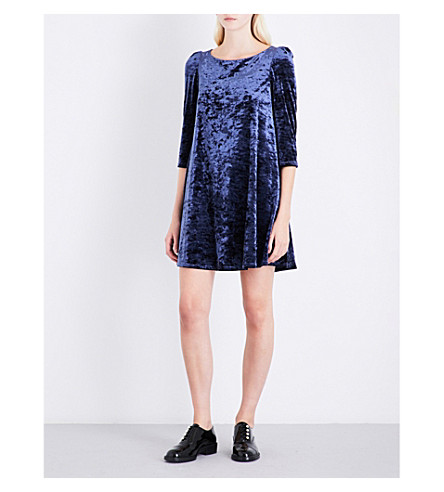 CLAUDIE PIERLOT Rififi velvet dress (Outre+mer