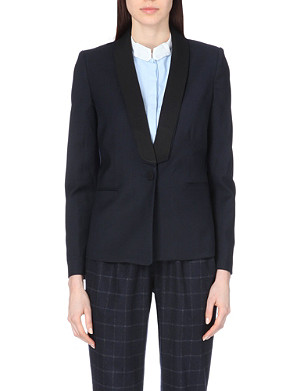 CLAUDIE PIERLOT Victorieuse Bis crepe jacket