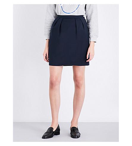 CLAUDIE PIERLOT Seville woven skirt (Marine
