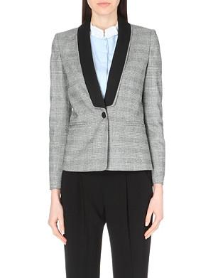 CLAUDIE PIERLOT Victorieuse crepe jacket