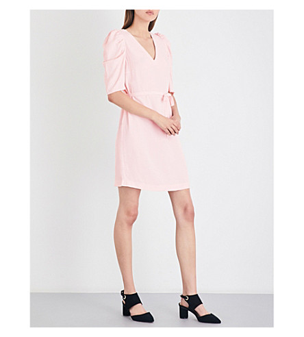 CLAUDIE PIERLOT Rivolta crepe mini dress (Rose+ceremonie