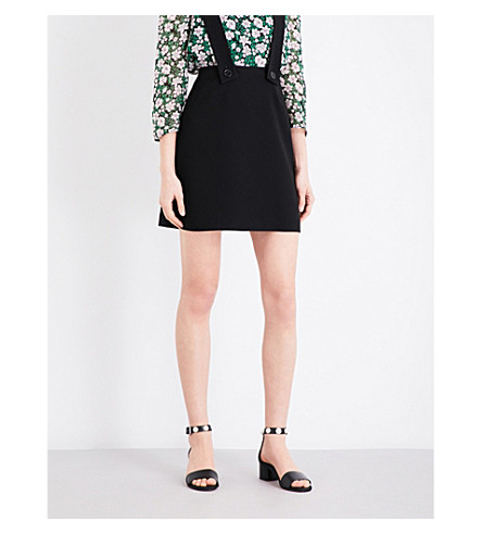 CLAUDIE PIERLOT Sweety crepe skirt (Noir