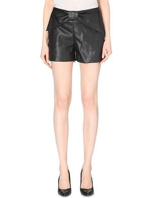 CLAUDIE PIERLOT Edmond Bis bow-detail shorts