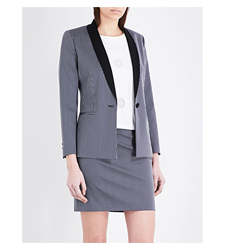 CLAUDIE PIERLOT Veritable gabardine jacket (Marine