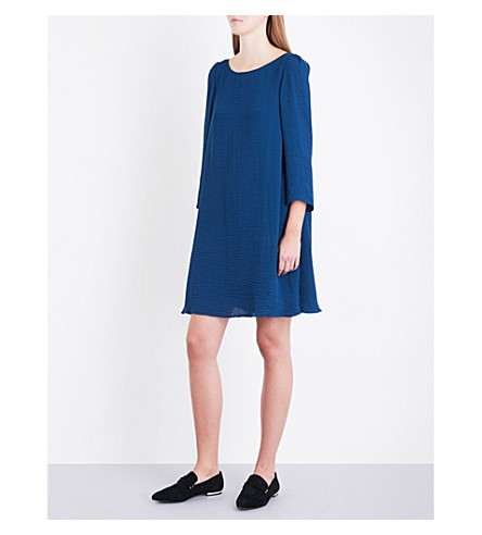 CLAUDIE PIERLOT Rififi woven dress (Canard
