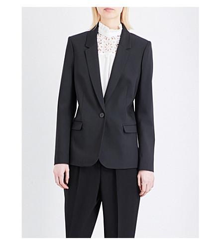 CLAUDIE PIERLOT Violaine woven jacket (Noir
