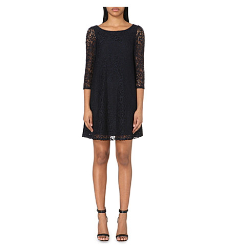 CLAUDIE PIERLOT Rififi lace dress (Navy