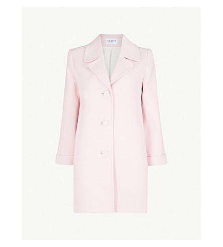 CLAUDIE PIERLOT Lined woven coat (White