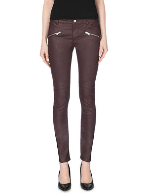 CLAUDIE PIERLOT Pol stretch-denim jeans