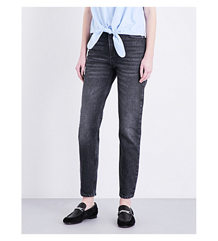CLAUDIE PIERLOT Pampa straight high-rise jeans (Jean