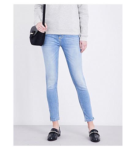 CLAUDIE PIERLOT Patricia skinny mid-rise jeans (Jean