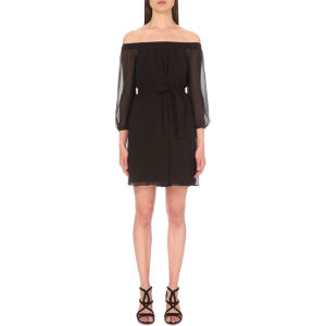 Rafi off-the-shoulder woven dress