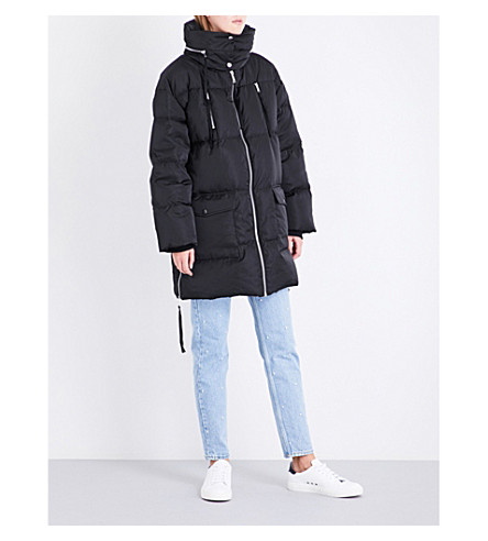 CLAUDIE PIERLOT Gimmick quilted coat (Noir