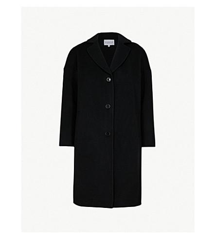CLAUDIE PIERLOT Wool-blend coat (Black