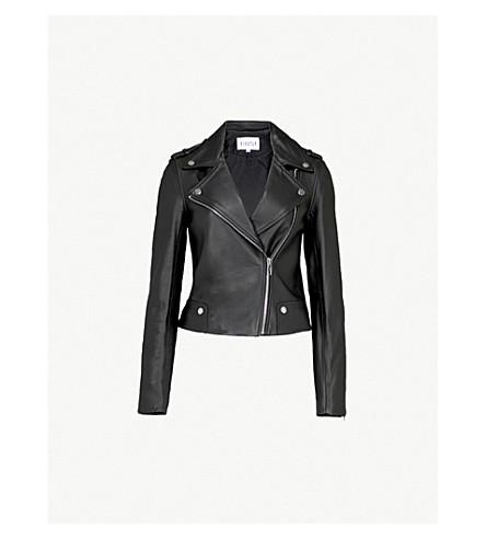 CLAUDIE PIERLOT Leather jacket (Noir