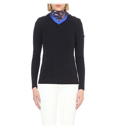CLAUDIE PIERLOT Meryl wool jumper (Marine