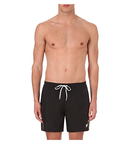 BOSS Shell swim shorts (Black