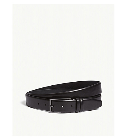 HUGO BOSS Carmello leather belt (Black