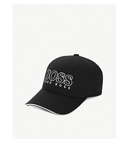 BOSS GREEN Cap US logo baseball cap (Black