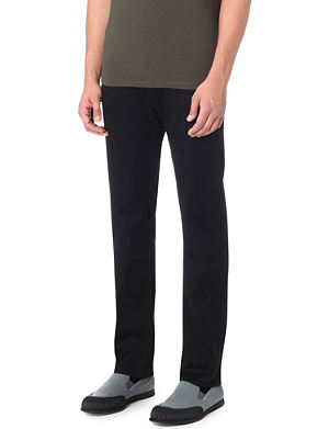 BOSS BLACK CASUAL Regular-fit tapered jeans