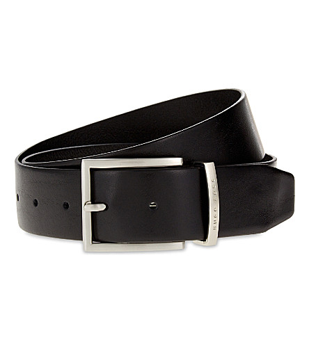 BOSS Leather belt (Black