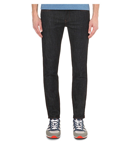 HUGO BOSS Leisure slim-fit jeans (Navy