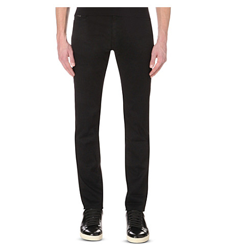 BOSS BLACK CASUAL Leisure slim-fit tapered stretch-denim jeans (Oxford