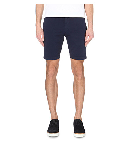 STEMAR Leisure slim-fit Bermuda shorts (Navy