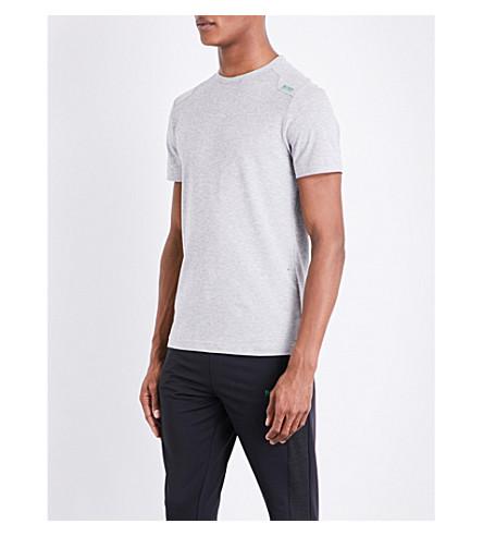 BOSS Logo-detail jersey T-shirt (Light/pastel+grey