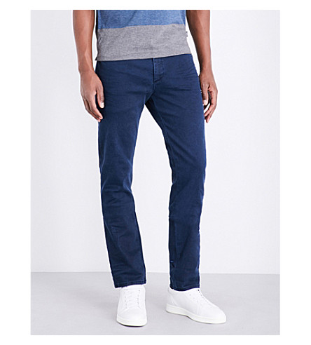 BOSS Slim-fit tapered jeans (Navy