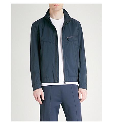 BOSS GREEN Shell jacket (Navy