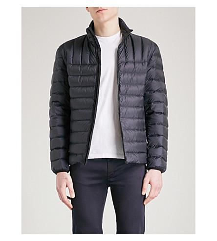 HUGO Padded shell-down jacket (Navy