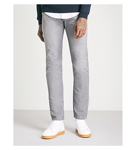 BOSS Slim-fit tapered jeans (Grey