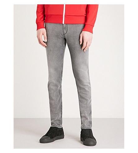 HUGO Slim-fit skinny jeans (Medium+grey