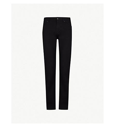 BOSS 休闲修身版型直腿牛仔裤 (开 + 蓝
