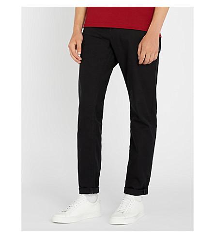 BOSS Leisure regular-fit straight-leg jeans (Open+blue