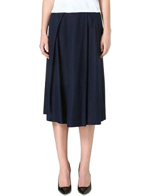 WHISTLES Ivy midi skirt
