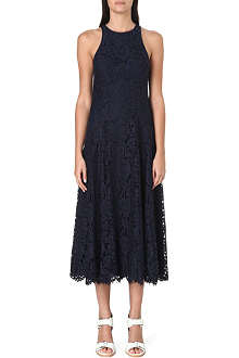 WHISTLES Cora lace dress