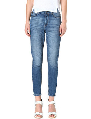 WHISTLES Tyler boyfriend mid-rise jeans