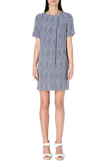 WHISTLES Vito stripe minna dress